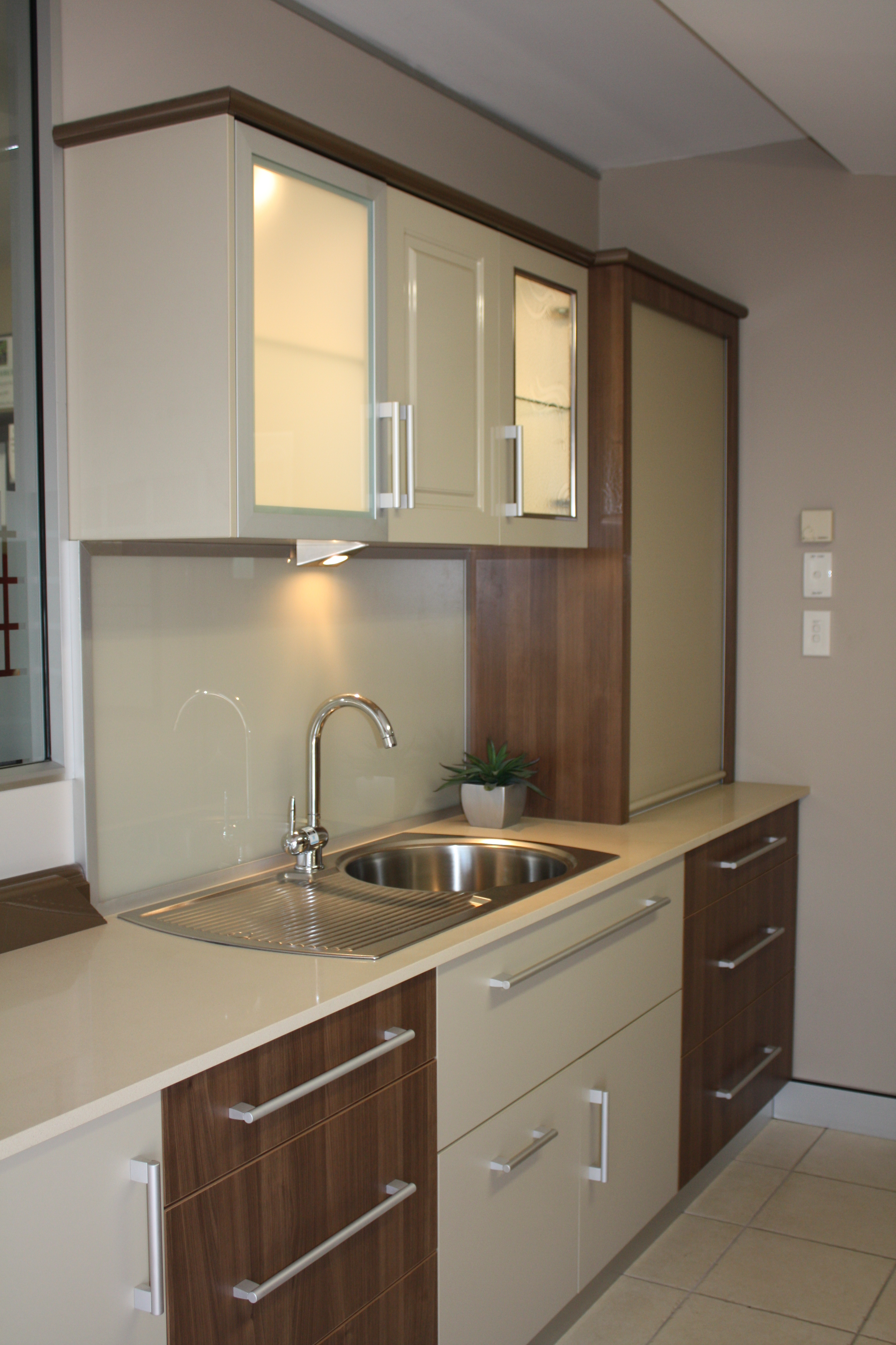 Use of composite finishes