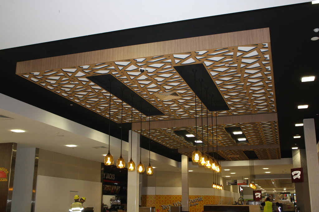 Ceiling designs for shops images for Shop ceiling design