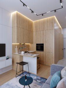 Space Efficient Kitchen